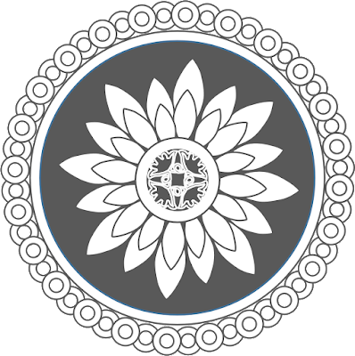 Free Clipart Mandala Series RT003