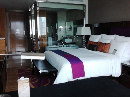 kamar di JW marriot bangkok