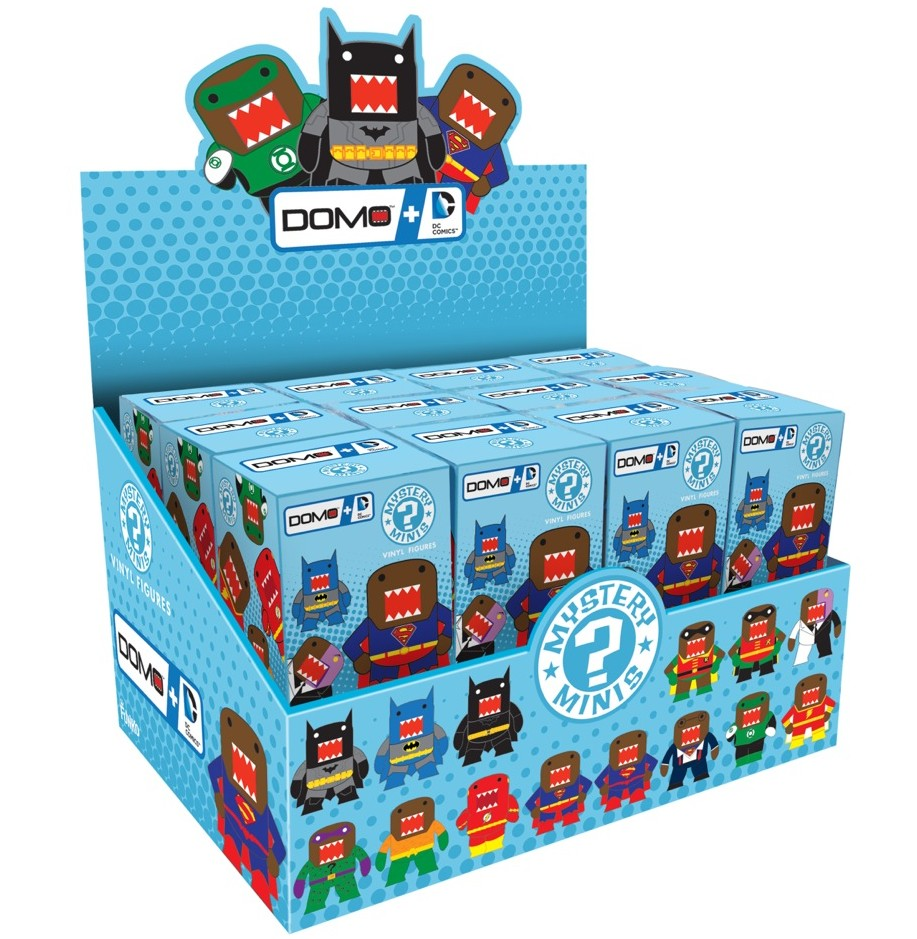 The Blot Says Dc Comics X Domo Mystery Minis Blind Box