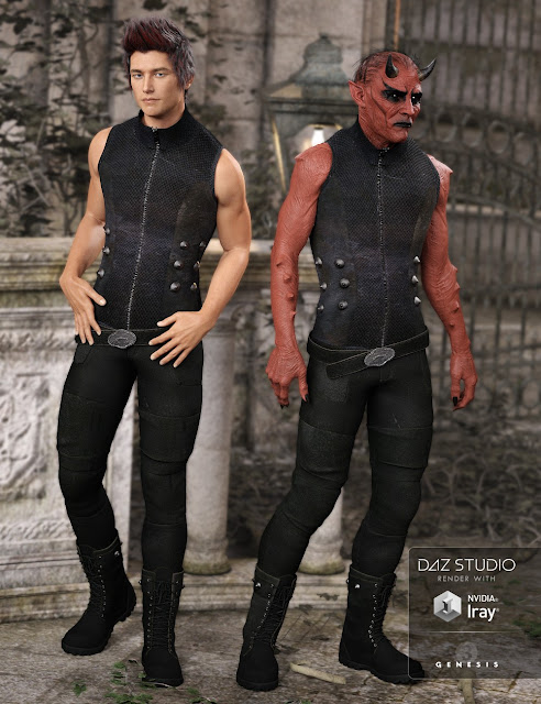 Bad Boy Outfit for Genesis 3 Male