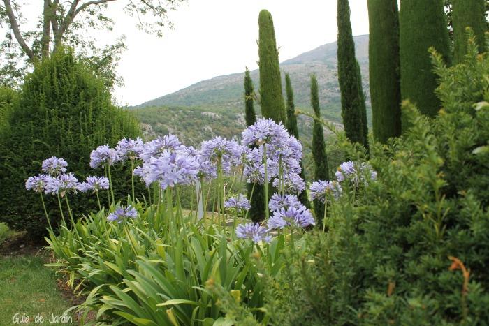 Jardines del castillo de Gourdon