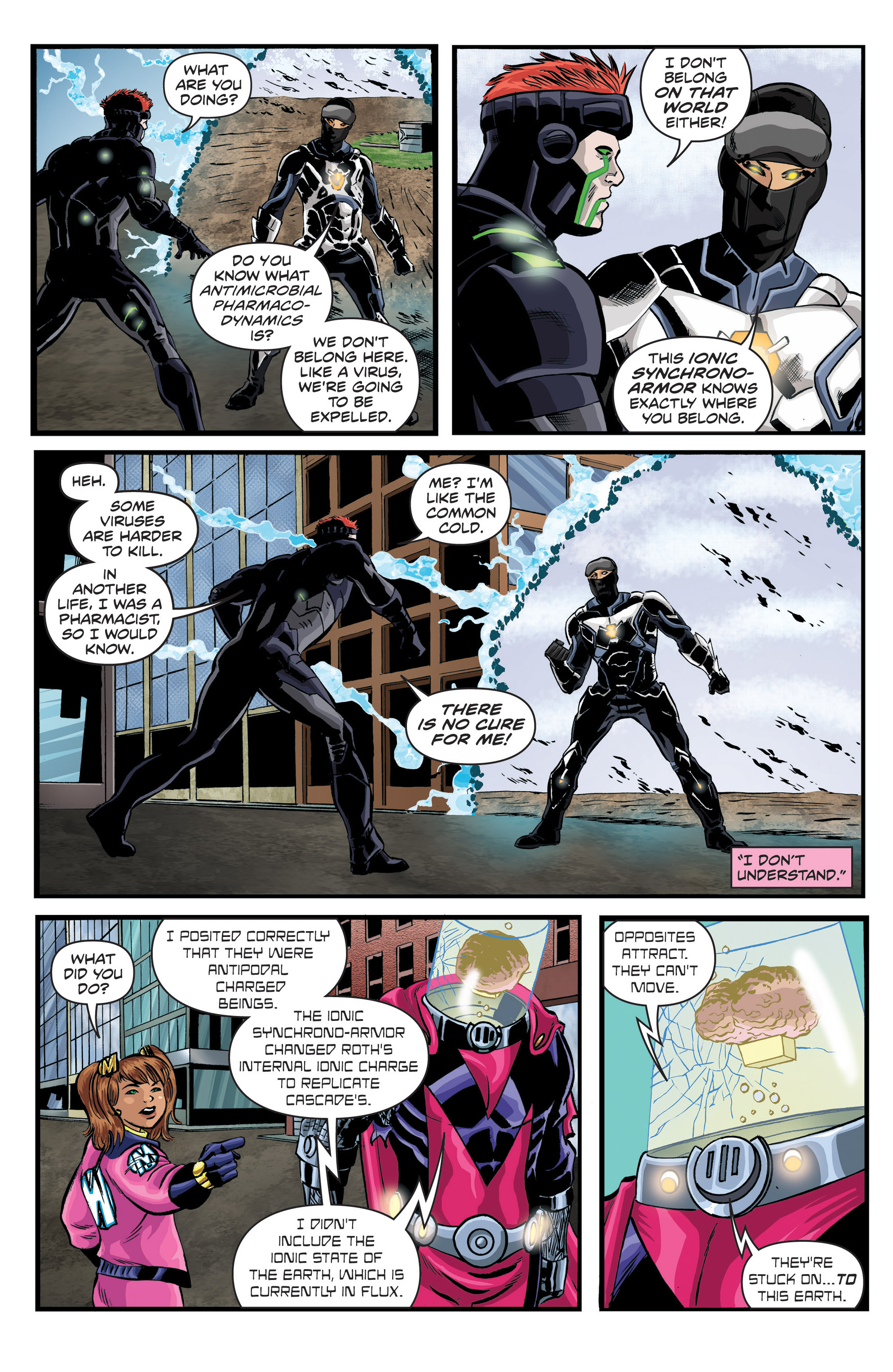 Read online Actionverse comic -  Issue #6 - 15