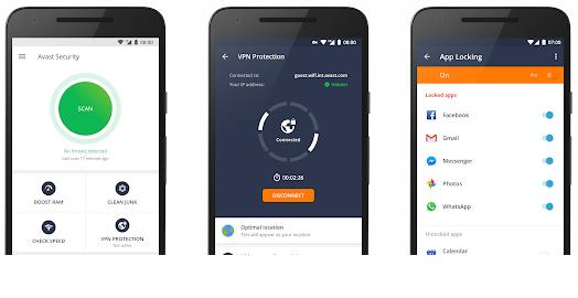 Aplikasi Antivirus Android Terbaik -  Avast