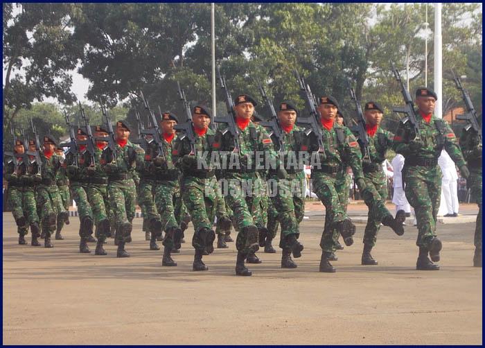 Kata Bijak Tentara Nasional Indonesia TNI untuk Status dan Caption