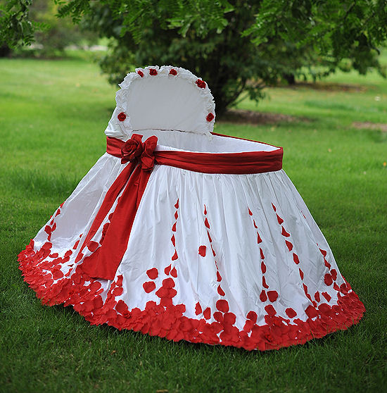 Designs By A Rose Bassinet Skirt