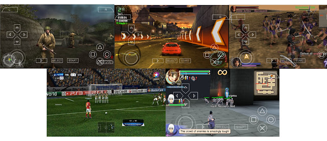 Kumpulan Game PPSSPP Untuk Android Free High Compress