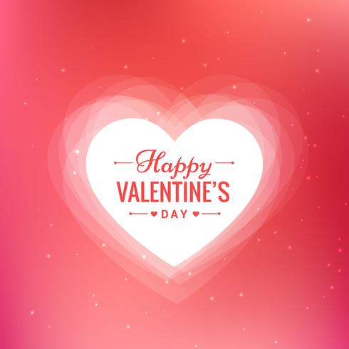 Beautiful Valentines Day Background Free Vector Design ...