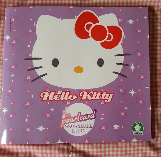 Hello Kitty Pearl Cards and Pearlcard Collector book / album