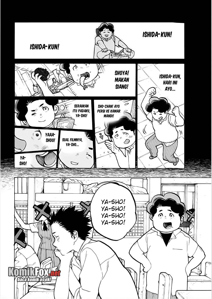 Koe no Katachi Chapter 36-3