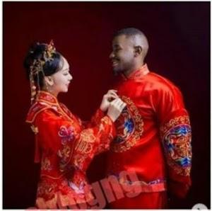 Nigerian Man Marrying Chinese Girl Shares Beautiful Pre-wedding Photos