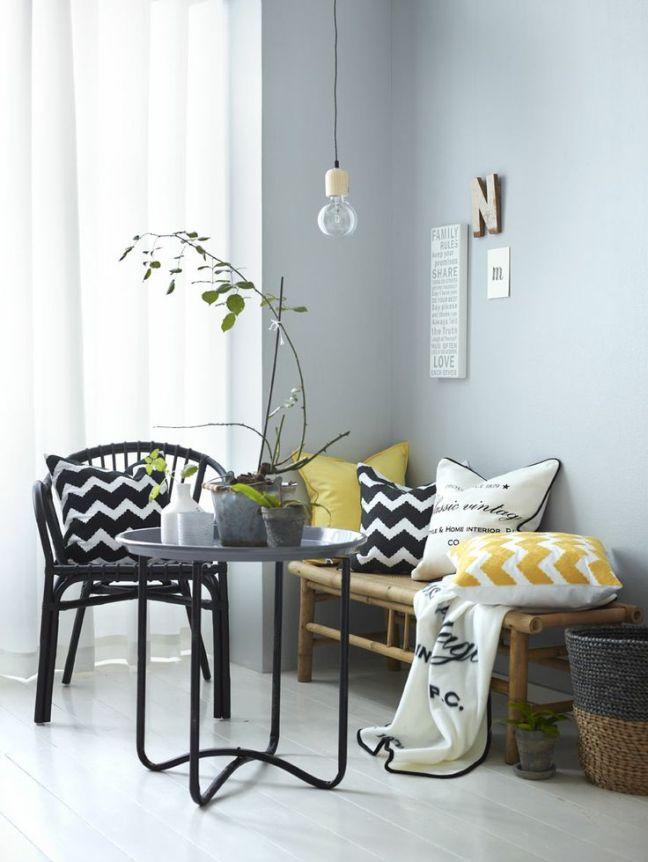 Textiles en amarillo