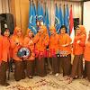 Ketua IKWI Sulsel,Pimpin Anggotanya Ikut Mukernas dan HUT IKWI Ke-56,2017