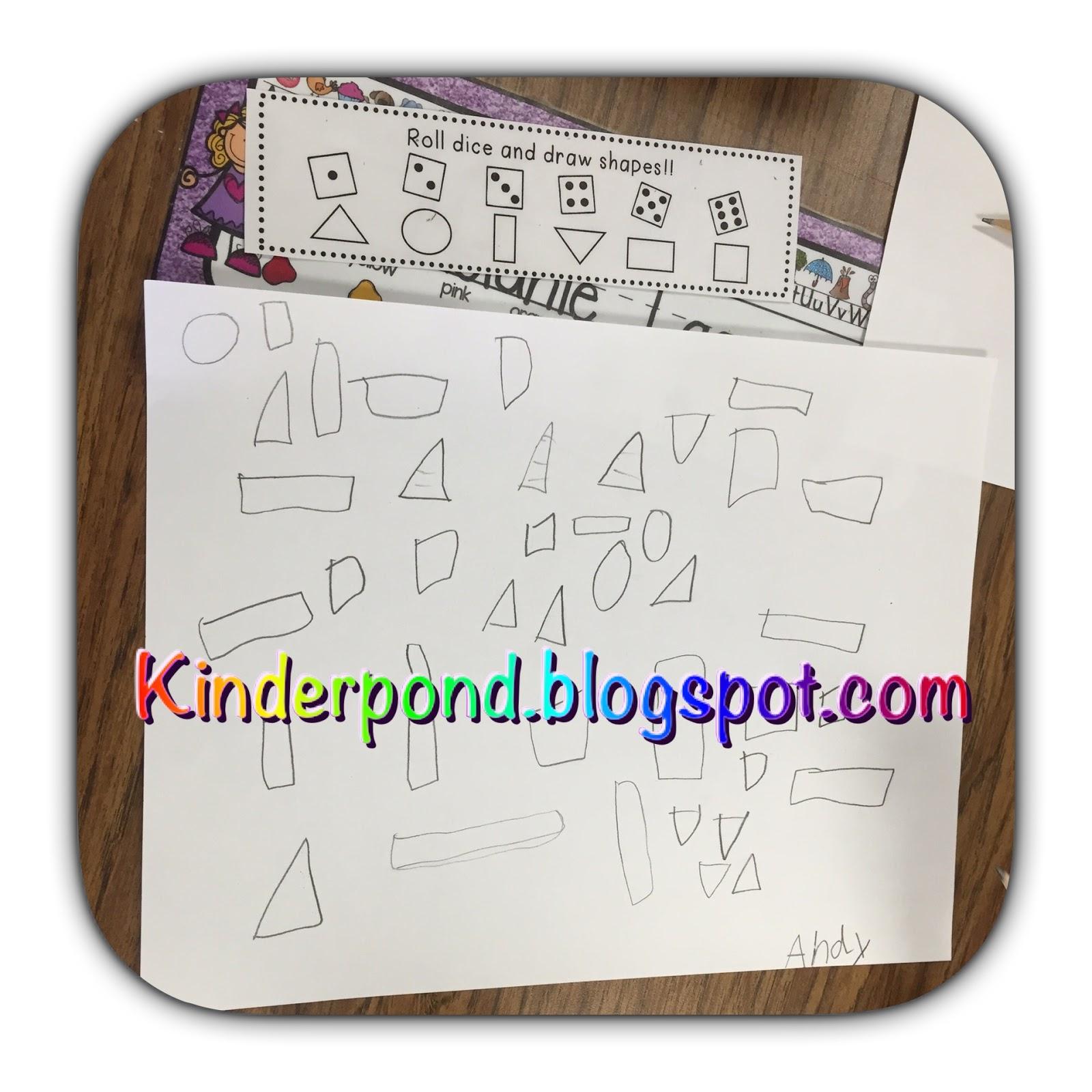 Kinderpond Math Rotations