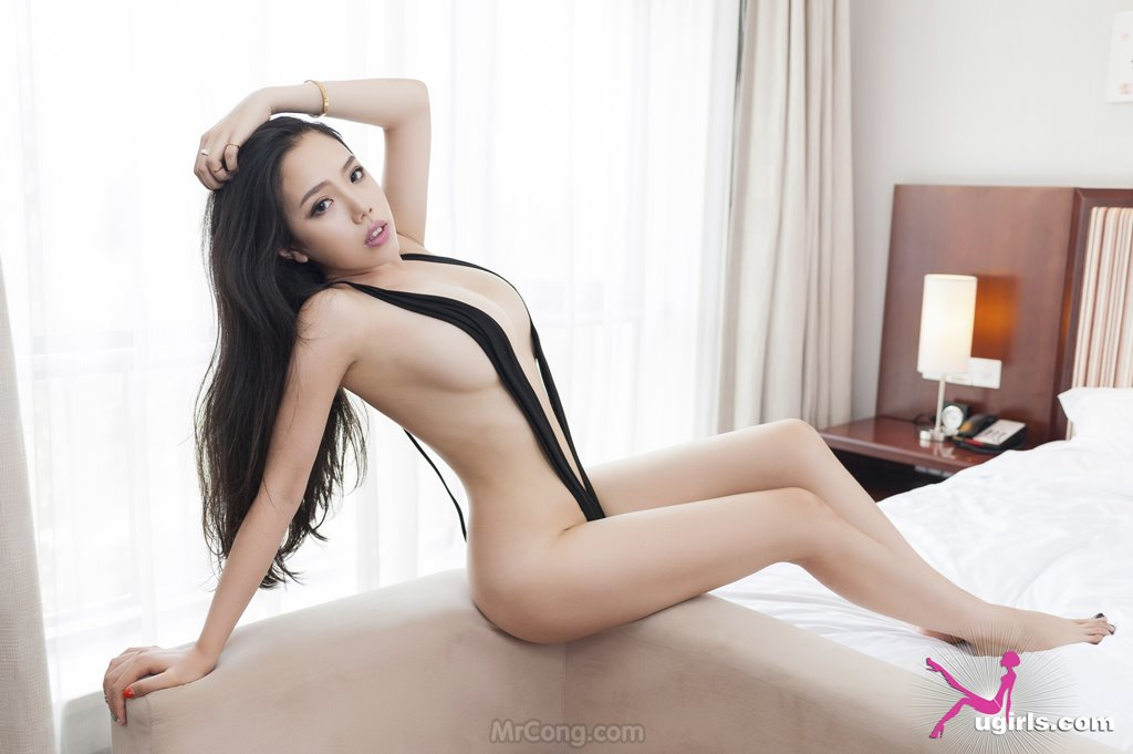 Image MrCong.com-UGIRLS-035-Ni-Xiao-Yao-023 in post Mê mẩn ngắm vòng một nở nang của người đẹp Ni Xiao Yao (妮小妖) trong bộ ảnh UGIRLS 035