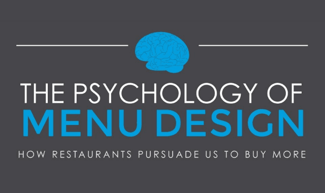 The Psychology of Menu Design