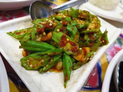 Baba Wins' Peranakan Cuisine, sambal lady's fingers