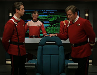 "TWOK-era ""monster maroon"" uniforms in Star Trek: Generations"