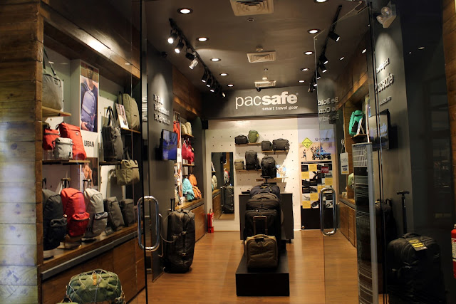 Pacsafe Boutique Stores in Makati Philippines