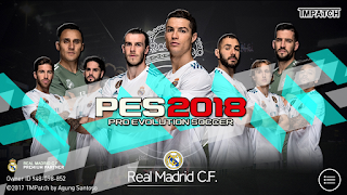 PES 2018 Mobile Patch Real Madrid Mod Menu Android V2.3.0