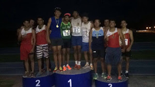 Baraúna fica em 1º lugar no Campeonato Paraibano de Atletismo