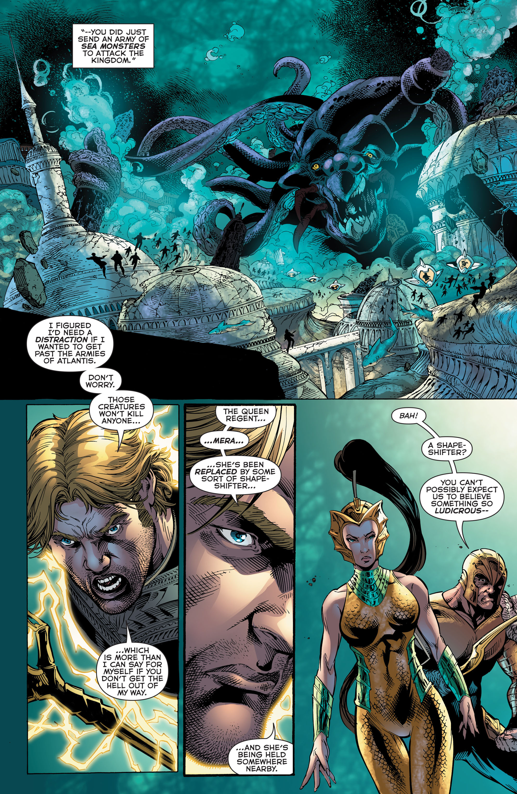 Read online Aquaman (2011) comic -  Issue #48 - 8