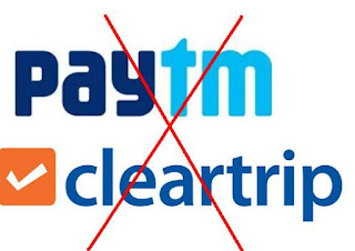 paytm cleartrip cashback fraud