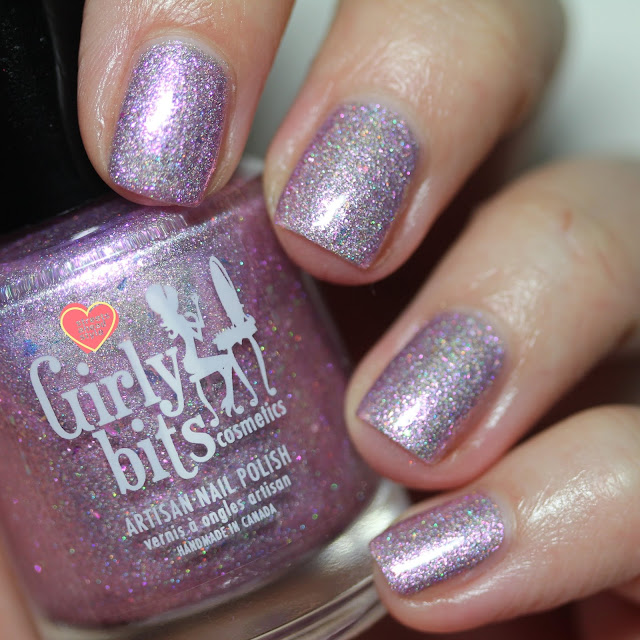 Girly Bits Addicted to Love HHC swatch by Streets Ahead Style