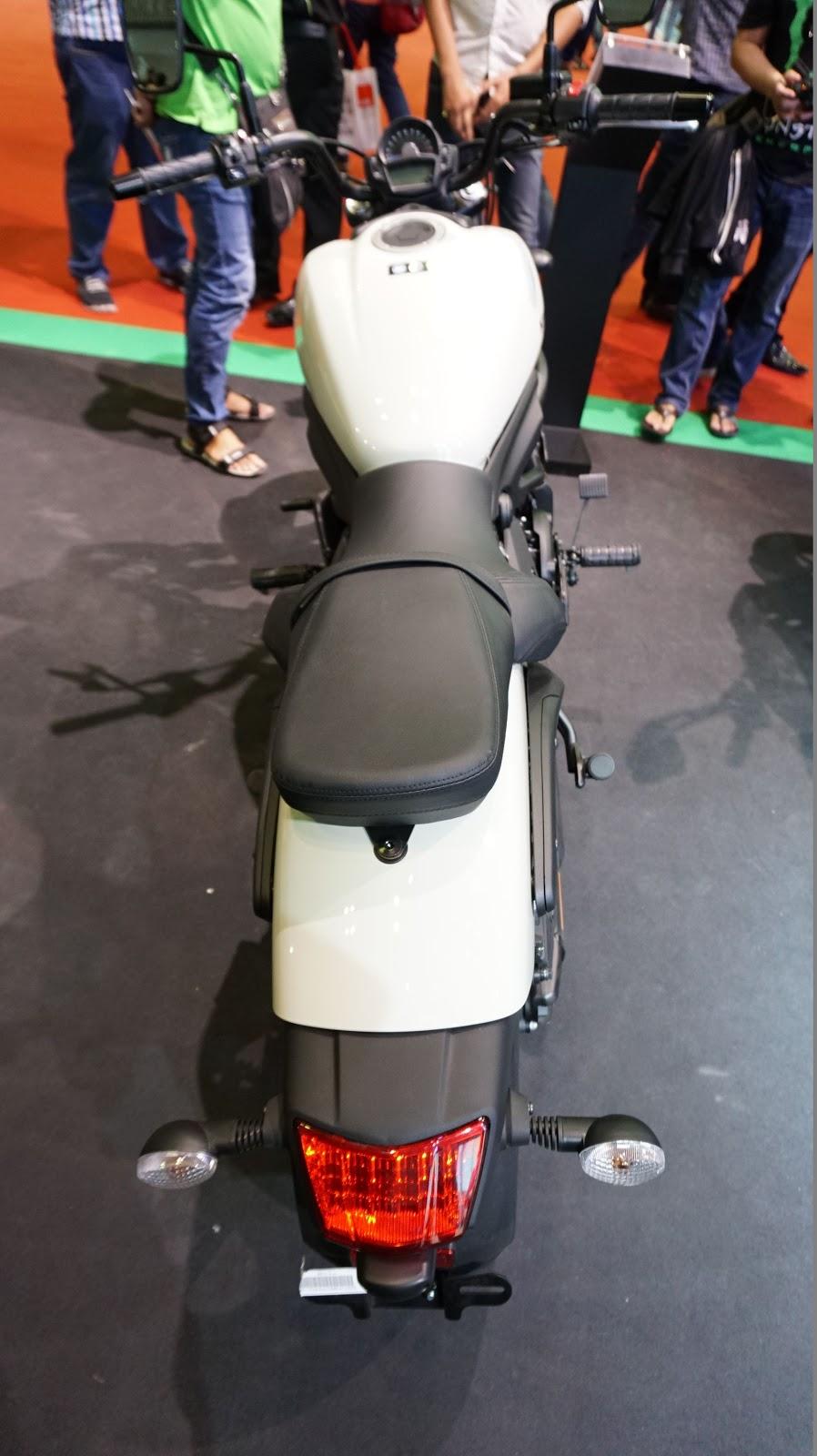 Cận cảnh siêu xe Kawasaki Vulcan S ABS tại VMS 2016