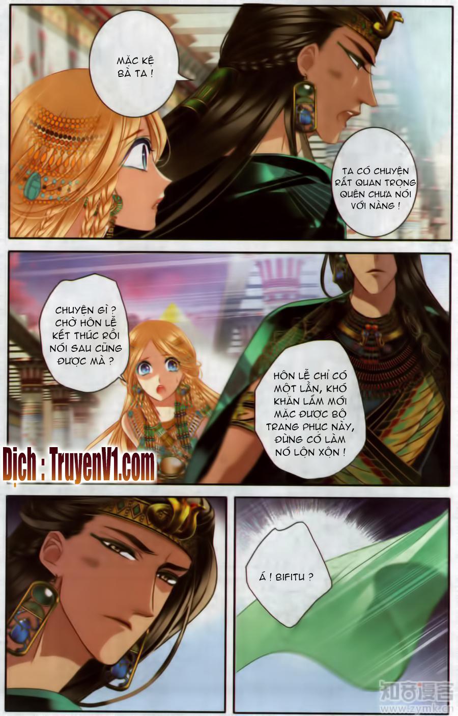 Sủng Phi Của Pharaoh Chap 50.2