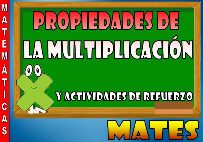 Propiedades de la multiplicación [Matemáticas] ~ Optifutura