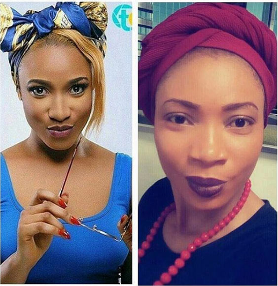 People say I look like Tonto Dikeh - Blessing Enyia