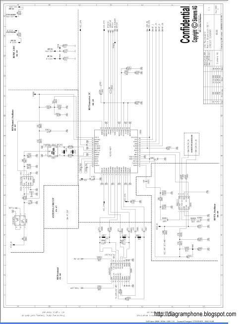 siemens s55 schematic diagram
