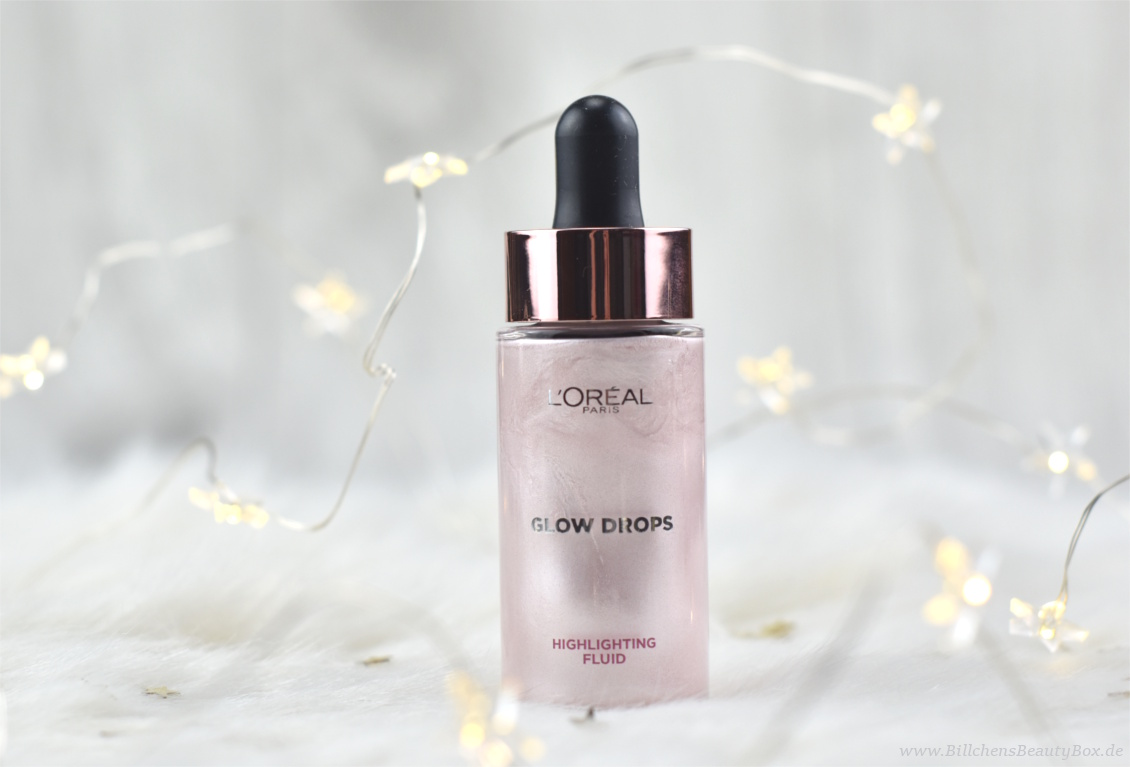 L'Oréal Infaillible Metallic Limited Edition - Highlighting Fluid Glow Drops - Review und Swatches