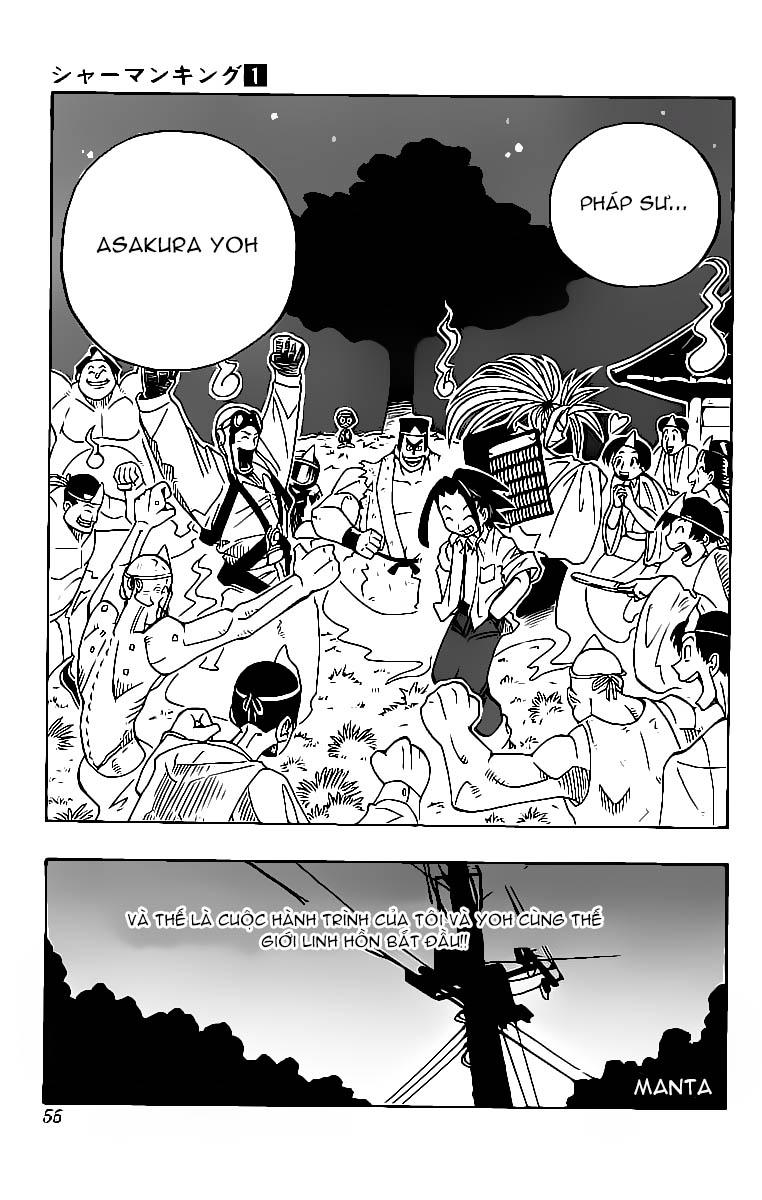 Shaman King [Vua pháp thuật] chap 1 trang 56