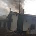 Empresa pega fogo em Cantagalo