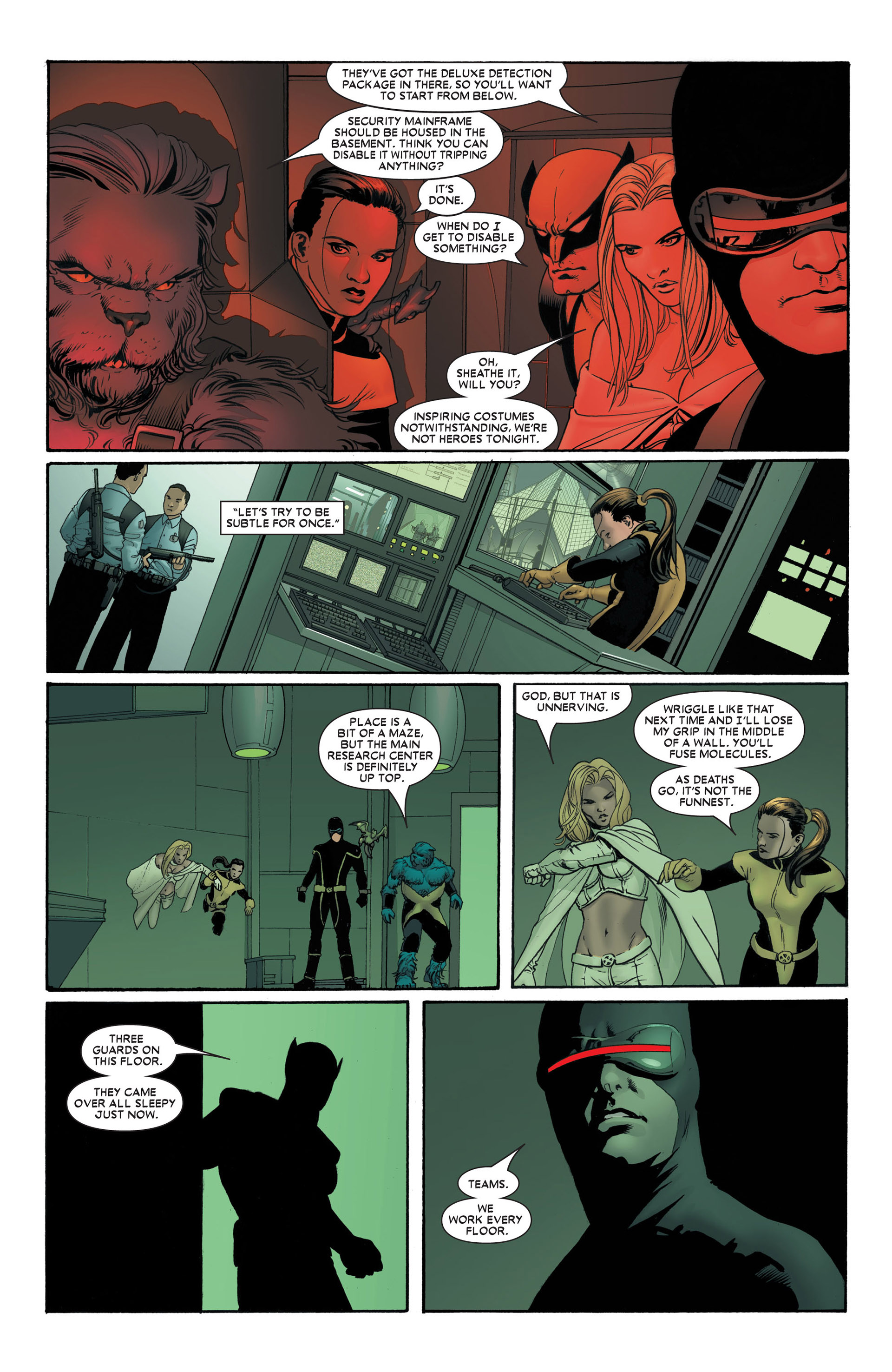 Read online Astonishing X-Men (2004) comic -  Issue #4 - 6