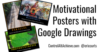 controlaltachieve.com - Eric - Have Students Create Educational 'Motivational Posters' with Google Drawings