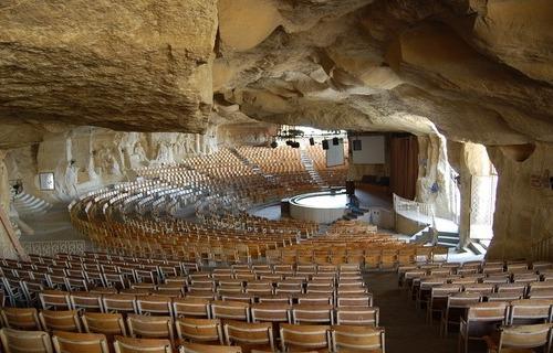 La iglesia en una cueva