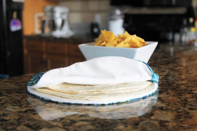DIY tortilla warmer pattern.