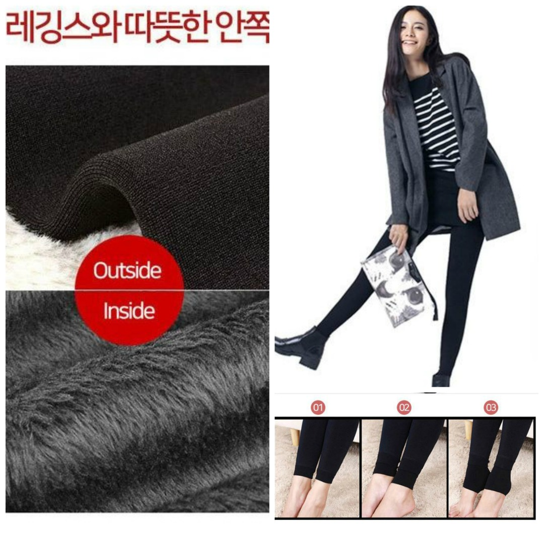 Baju Korea Import Online Butik Fashion Longjohn Winter Wear Untuk Pria Celana Thermal Legging 4 Color Pants