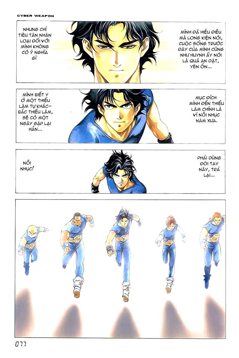 Cyber Weapon Z - Siêu Thần Z chap 2 - Trang 15