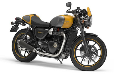 New 2016 Triumph Street Cup side profile