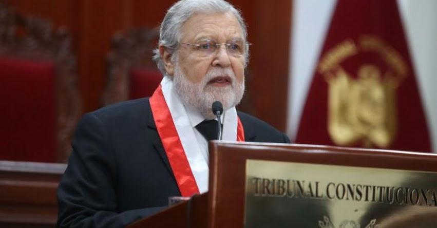 TC: Tribunal Constitucional admite a trámite demanda competencial de Pedro Olaechea - www.tc.gob.pe