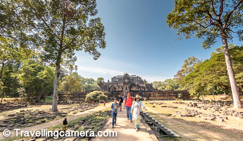 For lunch, there are enough options within the forest which has all these temples of UNESCO world heritage site. Try Khmer food, especially if you like non-veg.