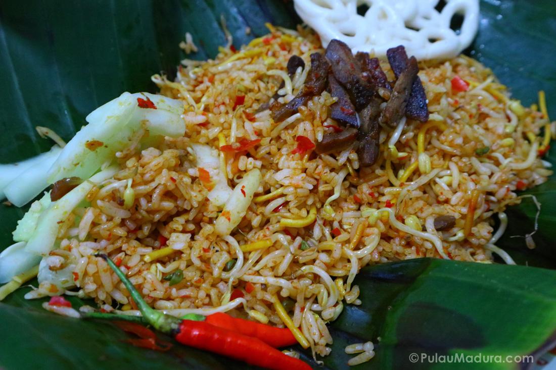 Kuliner Nasi Goreng Bumbu Madura Di Kota Bangkalan Gerbang