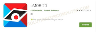 cMOB-20  from play store