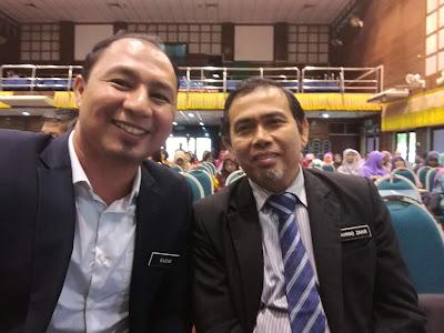 Bersama Encik Zahir, Penolong KPP BTPN Kedah
