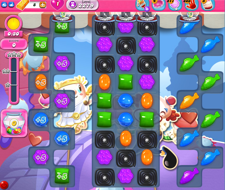 Candy Crush Saga level 2279