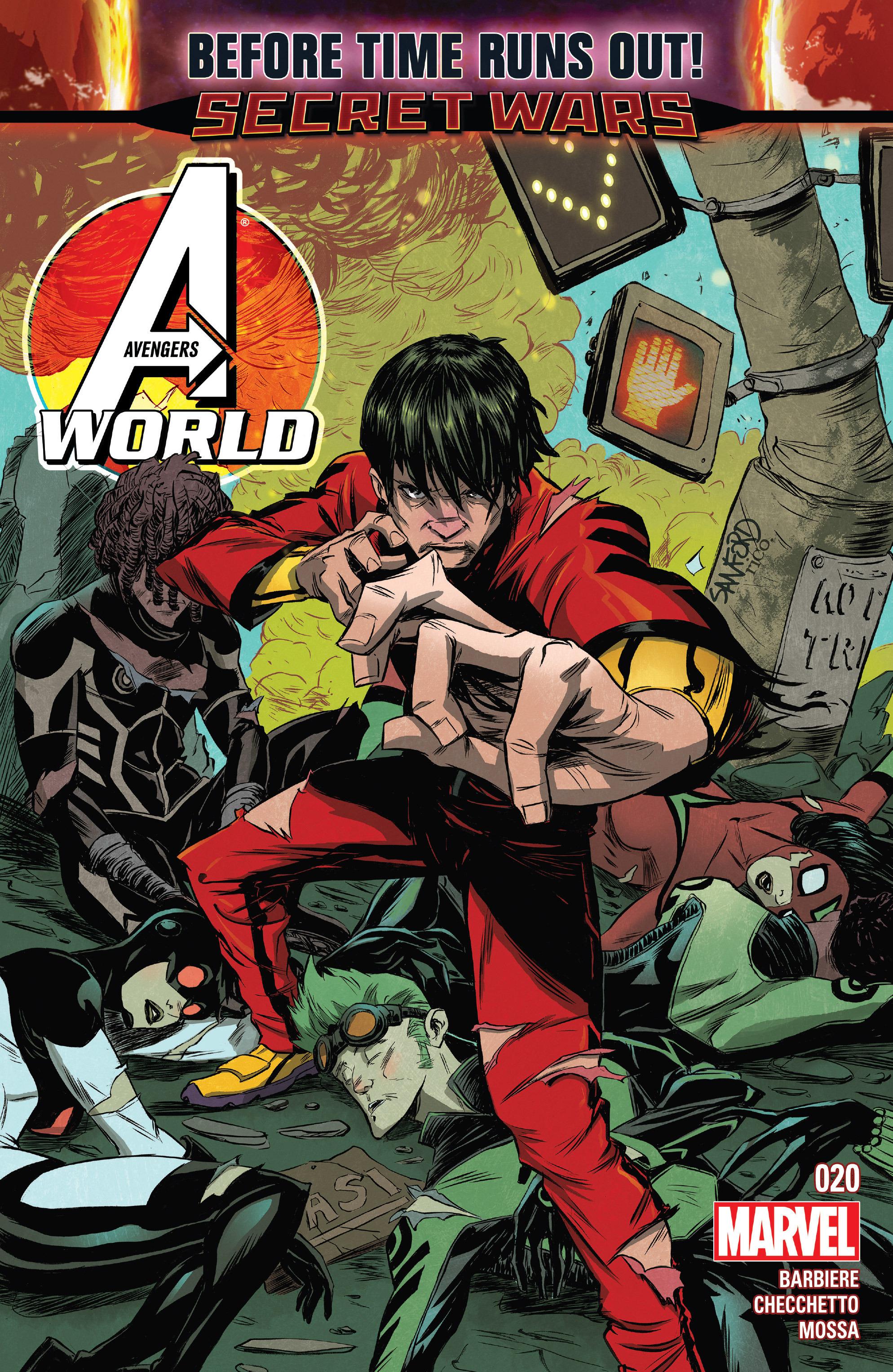 Avengers World 20 Page 1