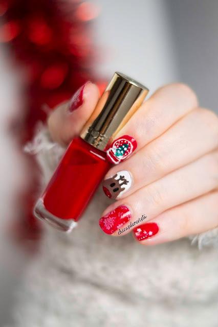 nail art film de Noël